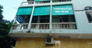 Mành che nắng hiên ban công tại Nhân Chính Hà Nội