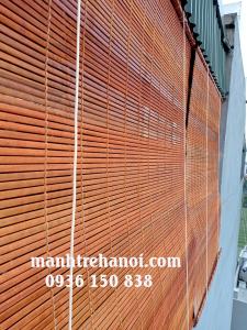 Mành trúc che nắng ban công sân thượng tại Tân Ấp - Hà Nội