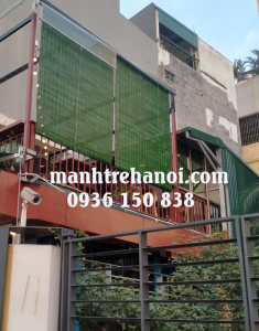 Lắp mành che nắng nhà hàng tại Tây Hồ Hà Nội