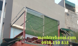 mành che nắng tầng hai của nhà hàng tại Tây Hồ Hà Nội