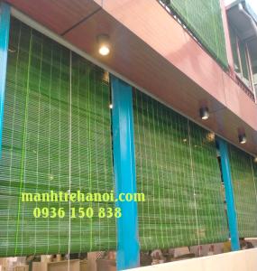 mành che nắng tầng một của nhà hàng tại Tây Hồ Hà Nội